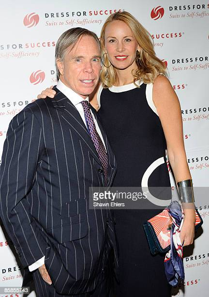 Designer Tommy Hilfiger and Dee Hilfiger attend the 2009 Dress for Success Worldwide Gala at the Grand Hyatt at Grand Central Station on April 7,...