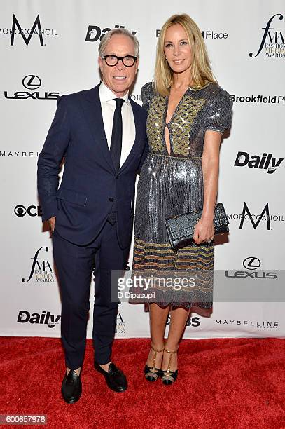 Designer Tommy Hilfiger and Dee Ocleppo Hilfiger attend the The Daily Front Row's 4th Annual Fashion Media Awards at Park Hyatt New York on September...