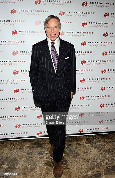 Designer Tommy Hilfiger attends the 2009 Dress for Success Worldwide Gala at the Grand Hyatt at Grand Central Station on April 7, 2009 in New York...