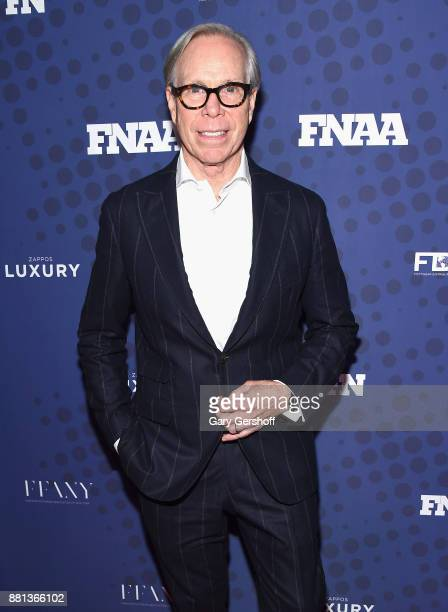 Designer Tommy Hifilger attends the 31st FN Achievement Awards at IAC Headquarters on November 28 2017 in New York City
