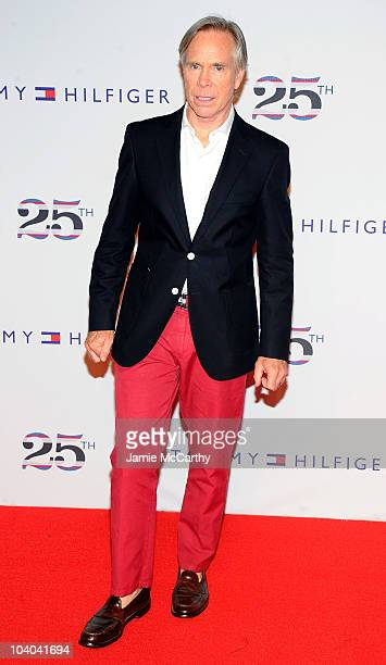 Designer Tommy Hilfiger attends the Tommy Hilfiger 25th anniversary celebration at The Metropolitan Opera House on September 12 2010 in New York City