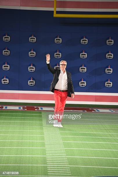 Designer Tommy Hilfiger celebrates Tommy Hilfiger's 30th Anniversary at 751DPARK on May 26 2105 in Beijing China