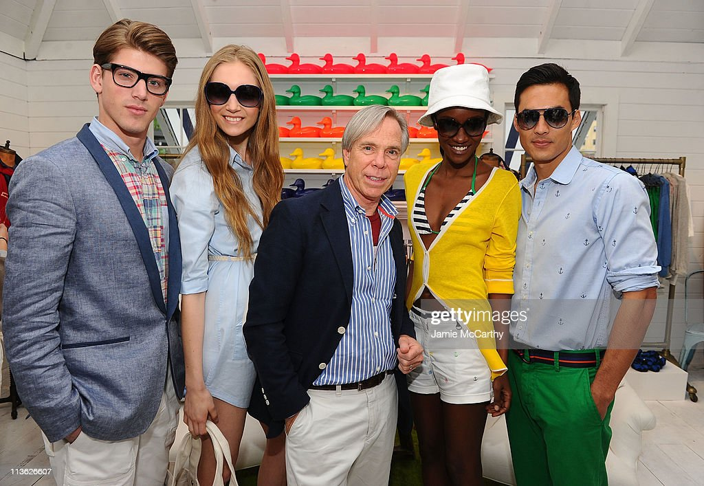 Tommy hilfiger house party models nyc