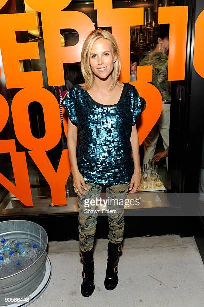 Designer Tory Burch at the Tory Burch celebration of Fashion's Night Out at Tory Burch Boutique on September 10 2009 in New York City