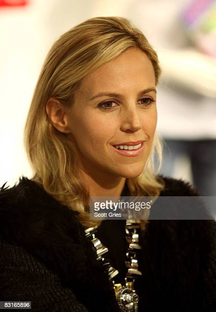 """Designer Tory Burch attends a reading of co-founder of Tribeca Film Festival Craig Hatkoff's new book """"Looking For Miza"""" at Bloomingdale's on October..."""