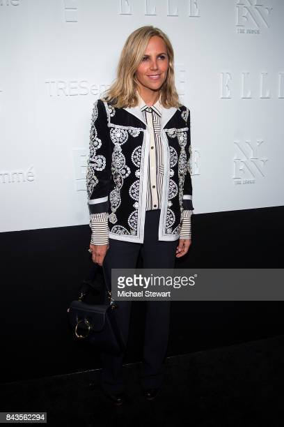 Designer Tory Burch attends ELLE E IMG host A Celebration of Personal Style NYFW Kickoff Party on September 6 2017 in New York City