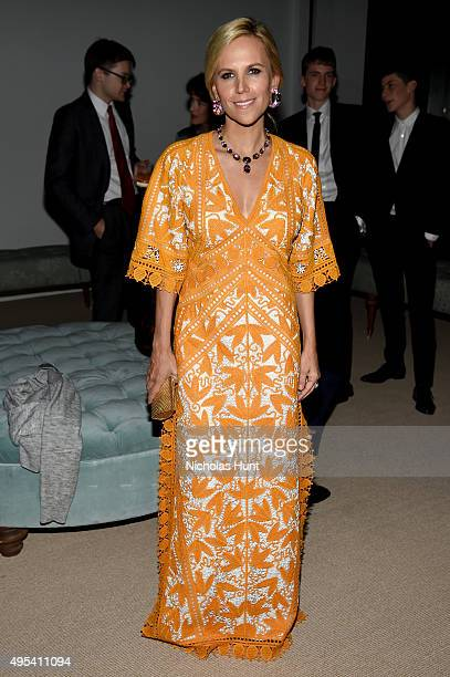 Designer Tory Burch attends the 12th annual CFDA/Vogue Fashion Fund Awards at Spring Studios on November 2 2015 in New York City