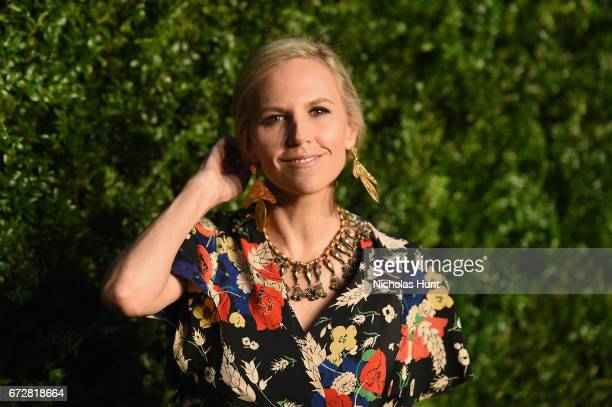 Designer Tory Burch attends the CHANEL Tribeca Film Festival Artists Dinner at Balthazar on April 24, 2017 in New York City.
