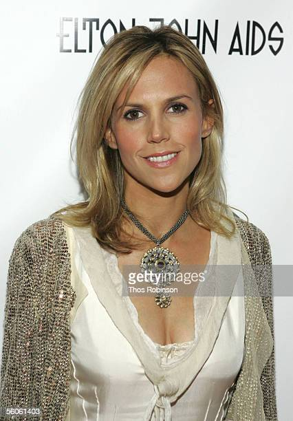Designer Tory Burch attends the Elton John & David Furnish Co-Chair AIDS Foundation Benefit at Cipriani on November 2, 2005 in New York City.