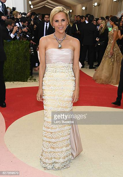 Designer Tory Burch attends the 'Manus x Machina Fashion In An Age Of Technology' Costume Institute Gala at Metropolitan Museum of Art on May 2 2016...