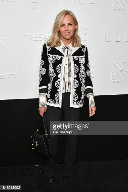 Designer Tory Burch attends the NYFW Kickoff Party A Celebration Of Personal Style hosted by E ELLE IMG and sponsored by TRESEMME on September 6 2017...