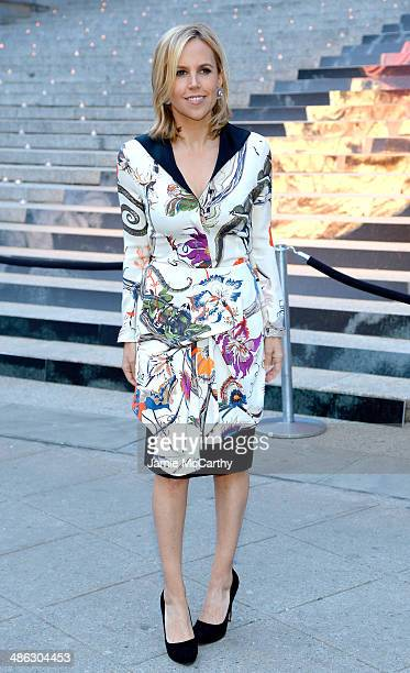 Designer Tory Burch attends the Vanity Fair Party during the 2014 Tribeca Film Festival at the State Supreme Courthouse on April 23, 2014 in New York...