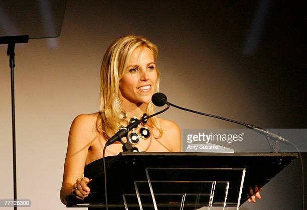 Designer Tory Burch speaks at the 11th Annual ACE Awards at Cipriani on November 5, 2007 in New York City.