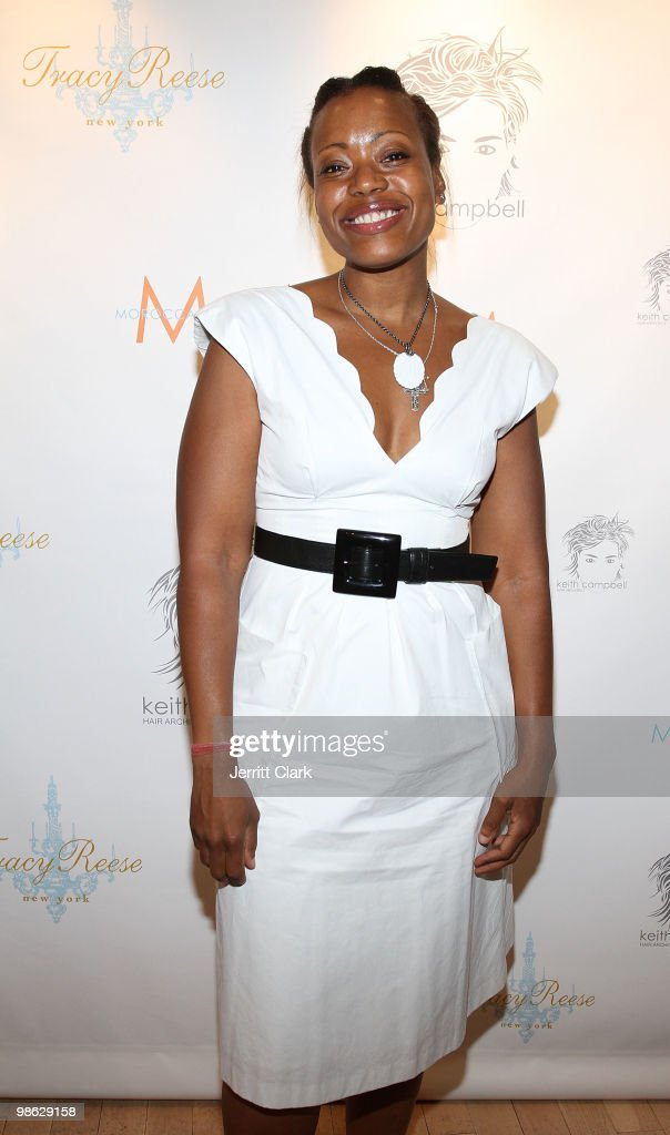 Designer Tracy Reese attends the 'Cuts Of Our Infirmities' book launch party at the Tracy Reese Boutique on April 22, 2010 in New York City.
