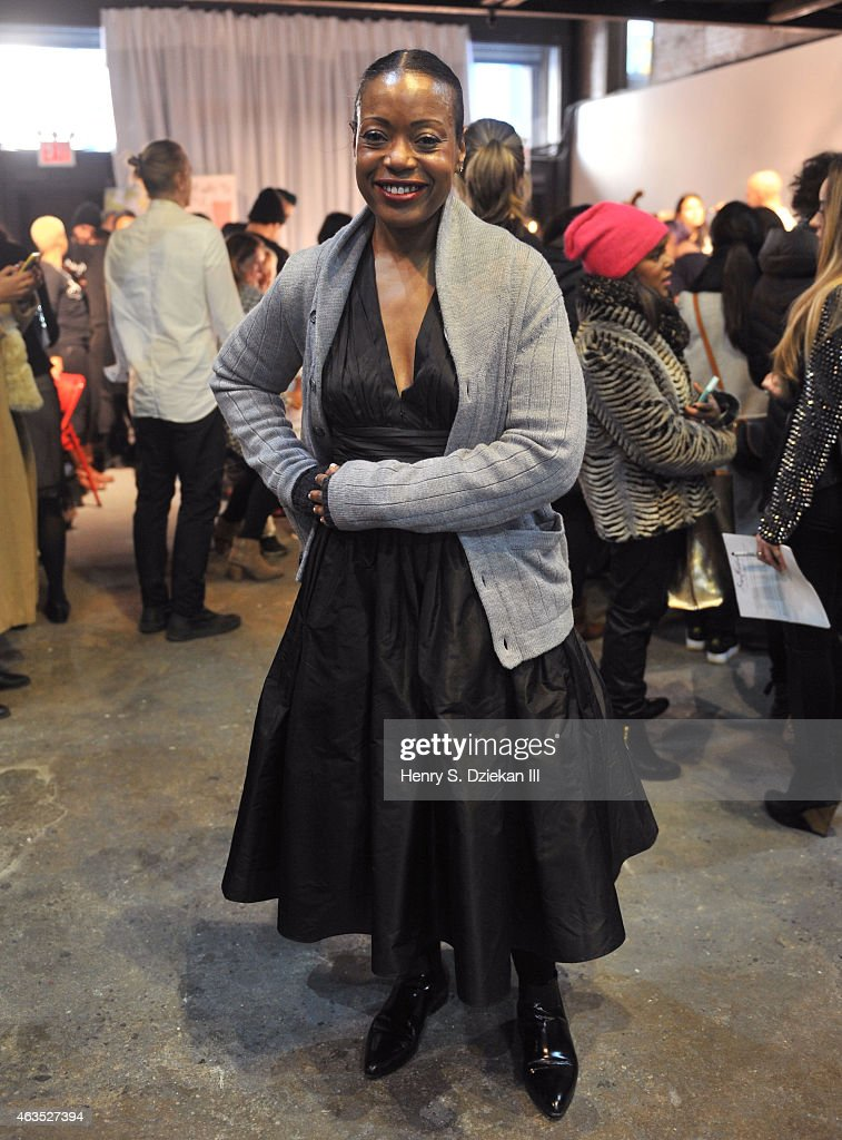 Tracy Reese - Front Row & Backstage - Mercedes-Benz Fashion Week Fall 2015