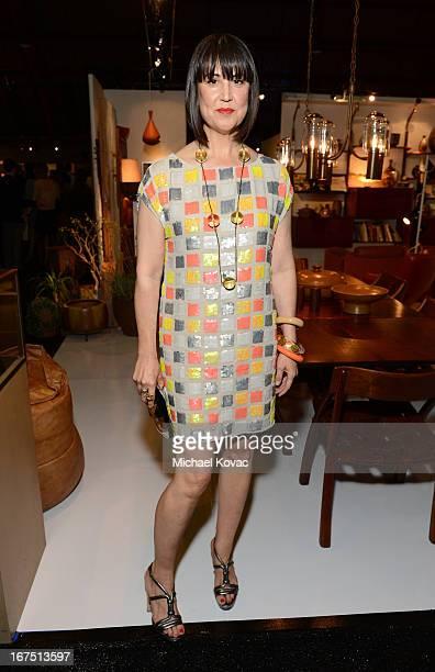 Designer Trina Turk attends PS ARTS Presents LA Modernism Show Opening Night at The Barker Hanger on April 25 2013 in Santa Monica California