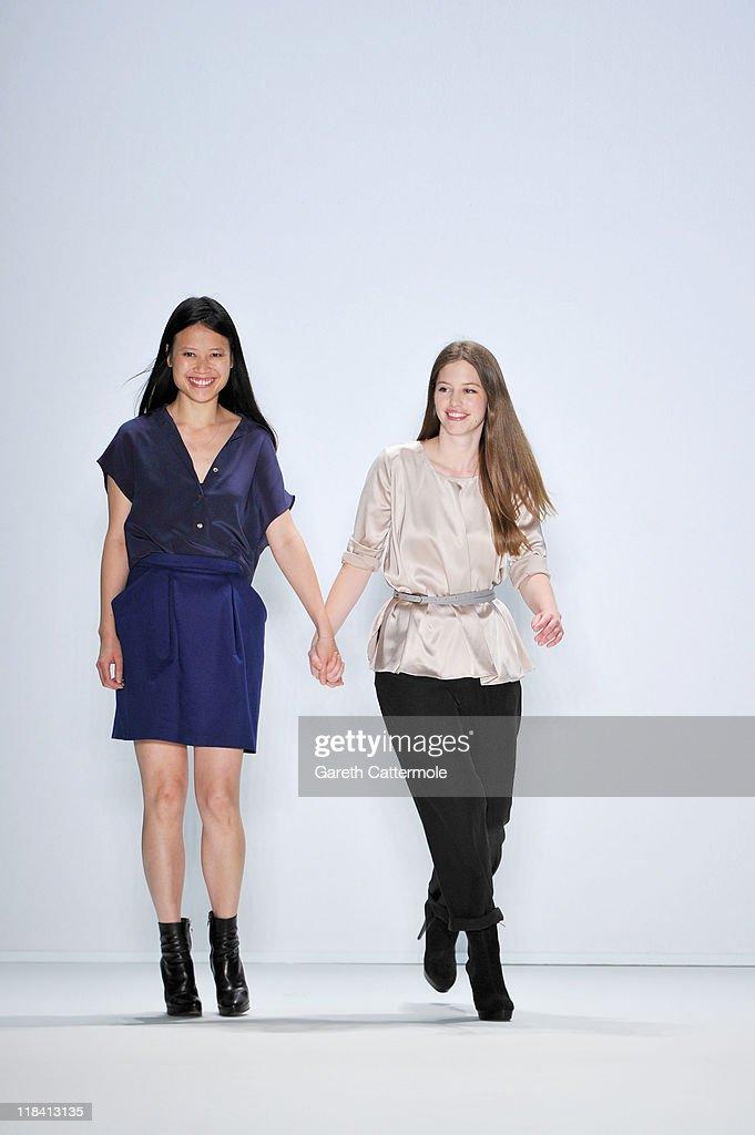 Perret Schaad Show - Mercedes-Benz Fashion Week Berlin Spring/Summer 2012