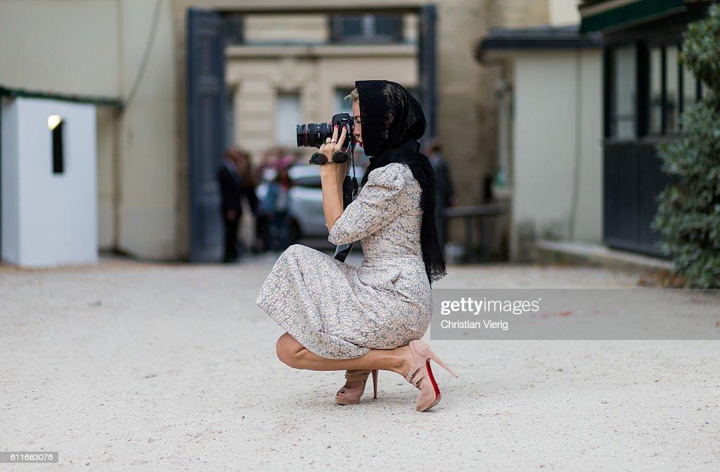 Street Style : Day Four Paris Fashion Week Spring/Summer 2017