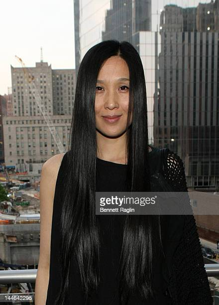 b880d61dc4c Designer Uma Wang poses for picture during W Hotels Vogue and the CFDA  Celebrate Chinese designer
