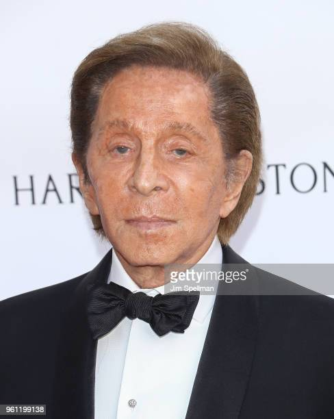 Designer Valentino attends the 2018 American Ballet Theatre Spring Gala at The Metropolitan Opera House on May 21 2018 in New York City