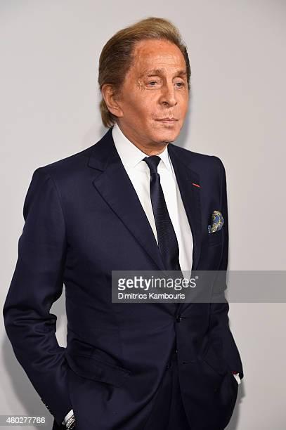 Designer Valentino Garavani attend the Valentino Sala Bianca 945 Event on December 10 2014 in New York City