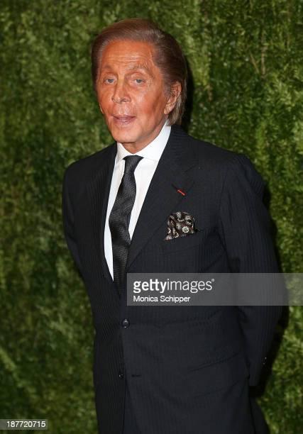 Designer Valentino Garavani attends CFDA and Vogue 2013 Fashion Fund Finalists Celebration at Spring Studios on November 11 2013 in New York CityÊ