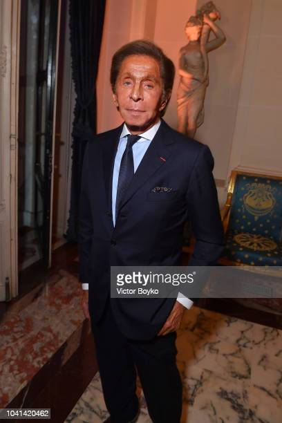 Designer Valentino Garavini attends the YouTube cocktail party during Paris Fashion Week on September 26 2018 in Paris France
