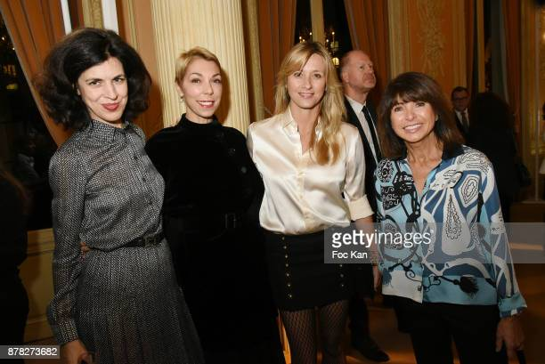 Designer Vanessa Seward Mathilde Favier Meyer interior designer Sarah Lavoine and Hermes for men designer Veronique Nichanian attend the 'Vogue...