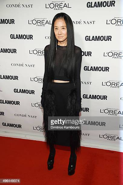 Designer Vera Wang attends 2015 Glamour Women Of The Year Awards at Carnegie Hall on November 9 2015 in New York City