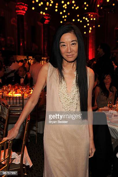 Designer Vera Wang attends DKMS' 4th Annual Gala Linked Against Leukemia at Cipriani 42nd Street on April 29 2010 in New York City