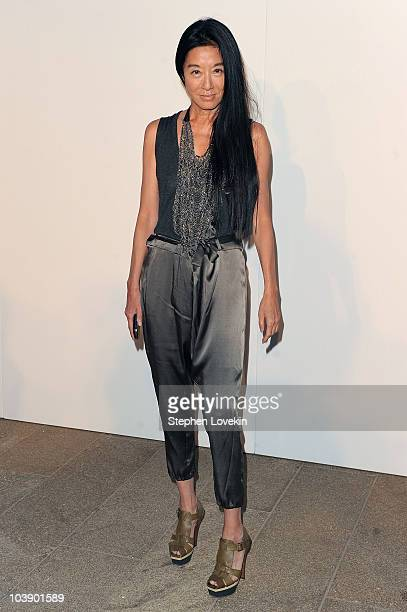 Designer Vera Wang attends Fashion's Night Out The Show at Lincoln Center on September 7 2010 in New York City