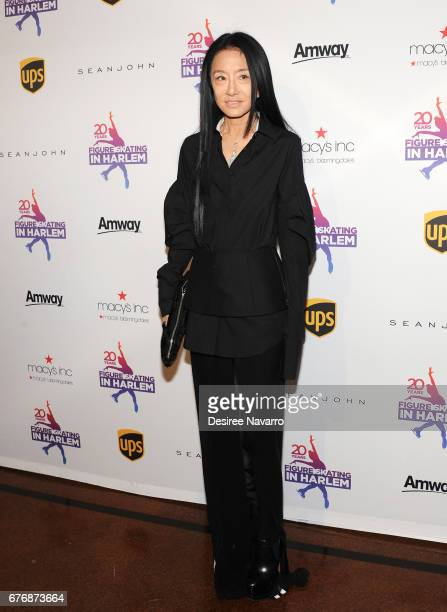Designer Vera Wang attends Figure Skating In Harlem 20th Anniversary Champions In Life Benefit Gala at 583 Park Avenue on May 2 2017 in New York City