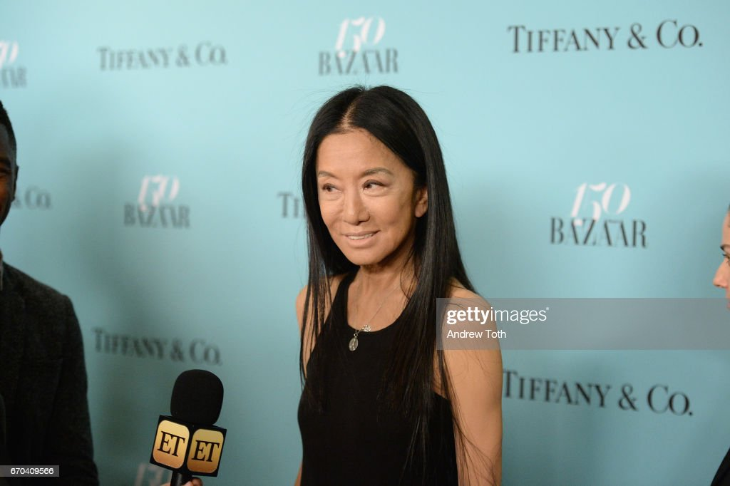 Harper's BAZAAR 150th Anniversary Event Presented With Tiffany & Co At The Rainbow Room - Arrivals : News Photo