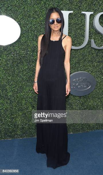 Designer Vera Wang attends the 17th Annual USTA Foundation Opening Night Gala at USTA Billie Jean King National Tennis Center on August 28 2017 in...