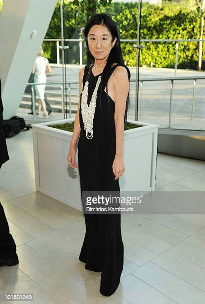 Designer Vera Wang attends the 2010 CFDA Fashion Awards at Alice Tully Hall Lincoln Center on June 7 2010 in New York City
