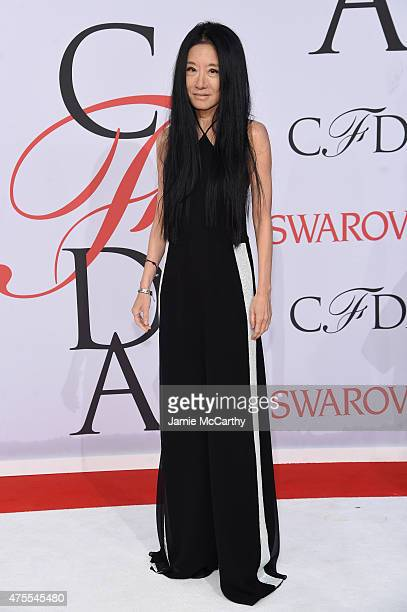 Designer Vera Wang attends the 2015 CFDA Fashion Awards at Alice Tully Hall at Lincoln Center on June 1 2015 in New York City