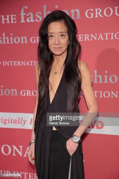 Designer Vera Wang attends the 2018 FGI Night Of Stars Gala at Cipriani Wall Street on October 25 2018 in New York City