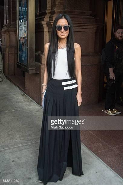 Designer Vera Wang attends the Bill Cunningham Memorial at Carnegie Hall on October 17 2016 in New York City