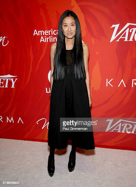 Designer Vera Wang attends the Variety's Power Of Women New York 2016 at Cipriani Midtown on April 8 2016 in New York City