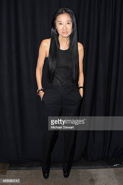 Designer Vera Wang attends Vera Wang during MercedesBenz Fashion Week Spring 2015 at 545 West 22nd Street on September 9 2014 in New York City
