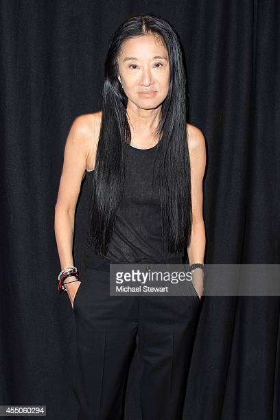 Designer Vera Wang attends Vera Wang during MercedesBenz Fashion Week Spring 2015 at 545 West 22nd Street on September 9 2014 in New York City
