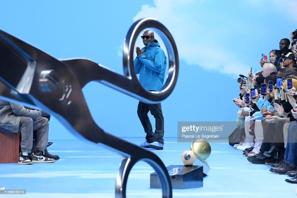 Louis Vuitton : Front Row  - Paris Fashion Week - Menswear F/W 2020-2021 : News Photo