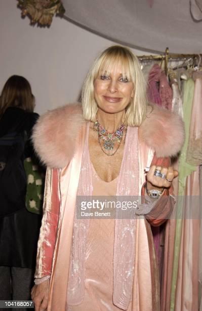 Designer Virginia Vogue Vintage Fashion Sale At Zandra Rhodes Studio In Bermondsey London