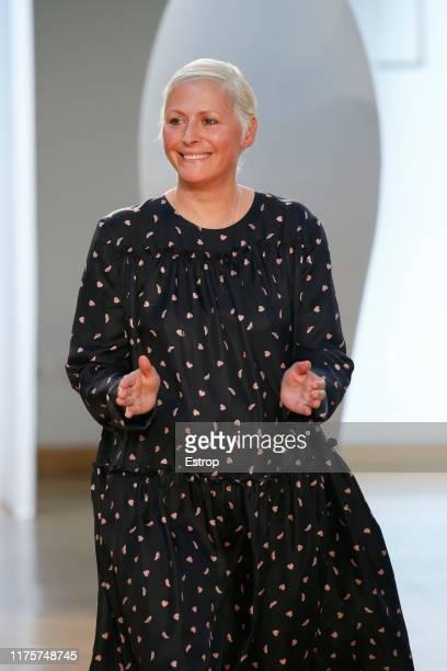 Designer Vivetta Ponti at the Vivetta show during the Milan Fashion Week Spring/Summer 2020 on September 19, 2019 in Milan, Italy.