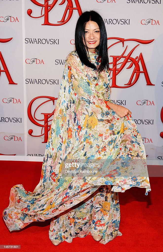 Designer Vivienne Tam attends the 2012 CFDA Fashion Awards at Alice Tully Hall on June 4, 2012 in New York City.