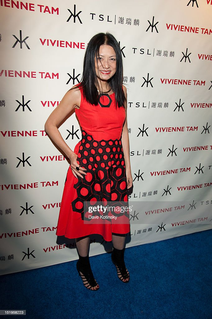 Designer Vivienne Tam attends the Vivienne Tam After Party And Collaboration With TSL on September 12, 2012 in New York City.