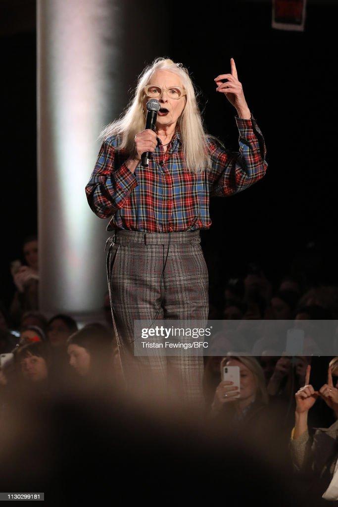 GBR: Vivienne Westwood - Runway - LFW February 2019