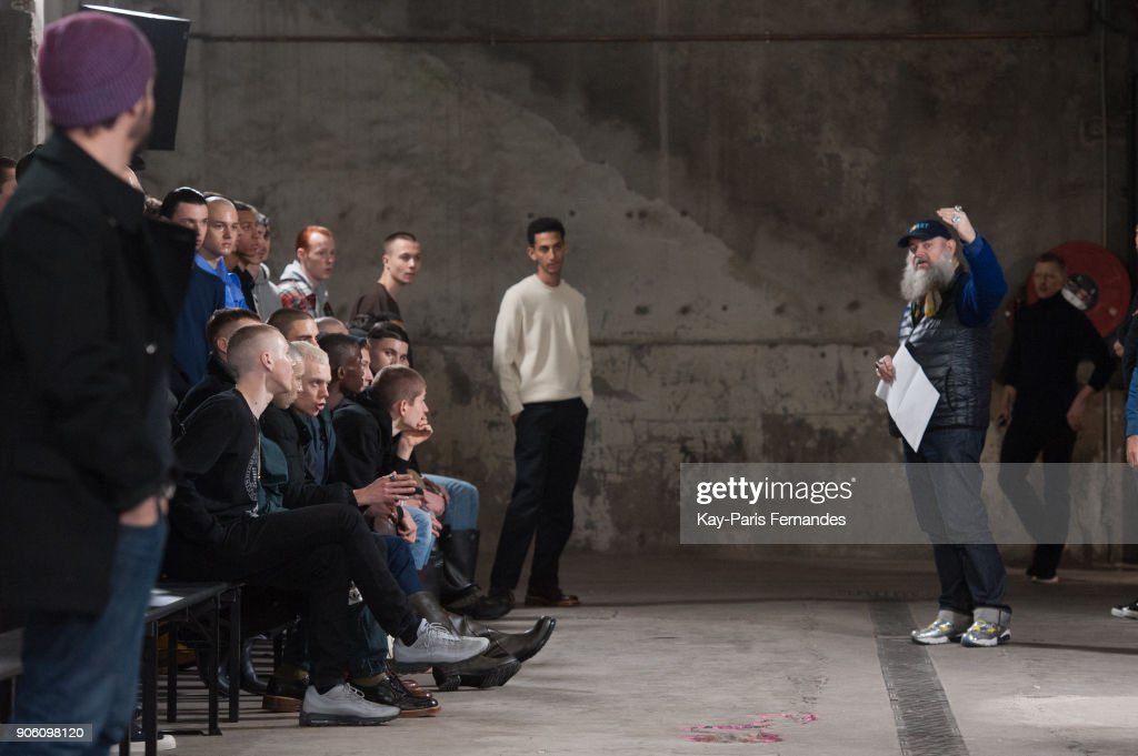 Walter Van Beirendonck : Backstage - Paris Fashion Week - Menswear F/W 2018-2019
