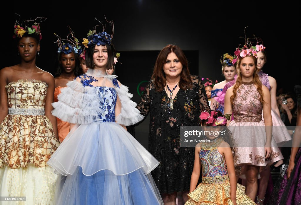 CA: Wanda Beauchamp at Los Angeles Fashion Week FW/19 Powered by Art Hearts Fashion
