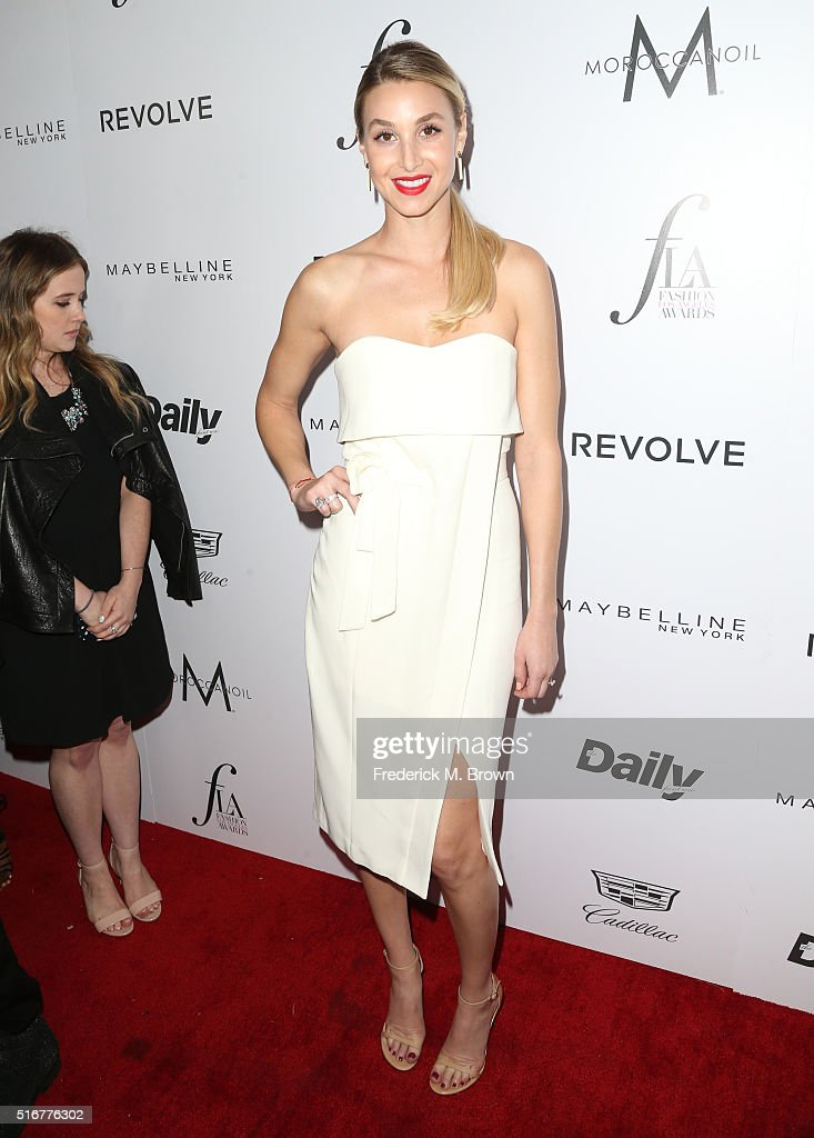 Designer Whitney Port attends the Daily Front Row 'Fashion Los Angeles Awards' at Sunset Tower Hotel on March 20, 2016 in West Hollywood, California.
